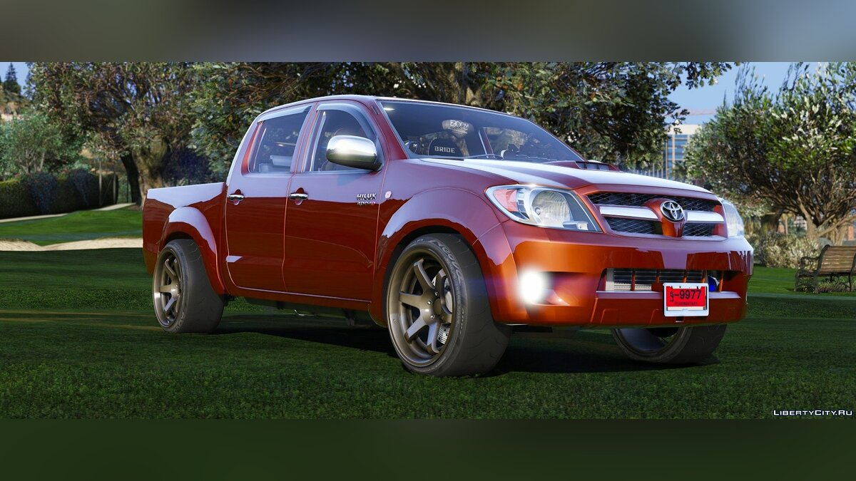 Toyota Hilux Vigo 2007 [Add-On | Replace | Template | Sound | RHD] 1.0 для GTA 5