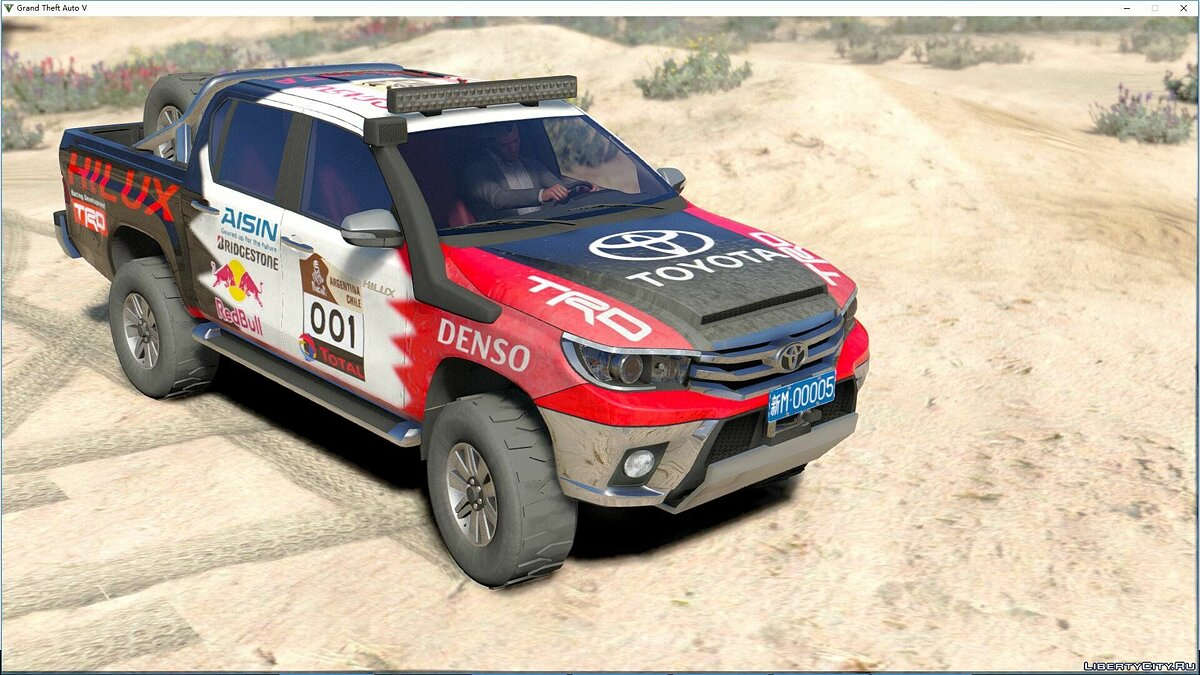 Toyota Hilux 2016 [Add-On|Tuning|Liveries|Template] 1.1 для GTA 5 - скриншот #5