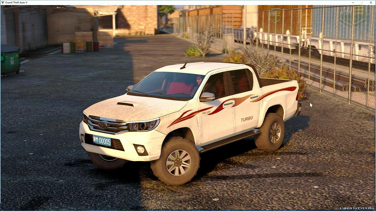 Toyota Hilux 2016 [Add-On|Tuning|Liveries|Template] 1.1 для GTA 5 - скриншот #4