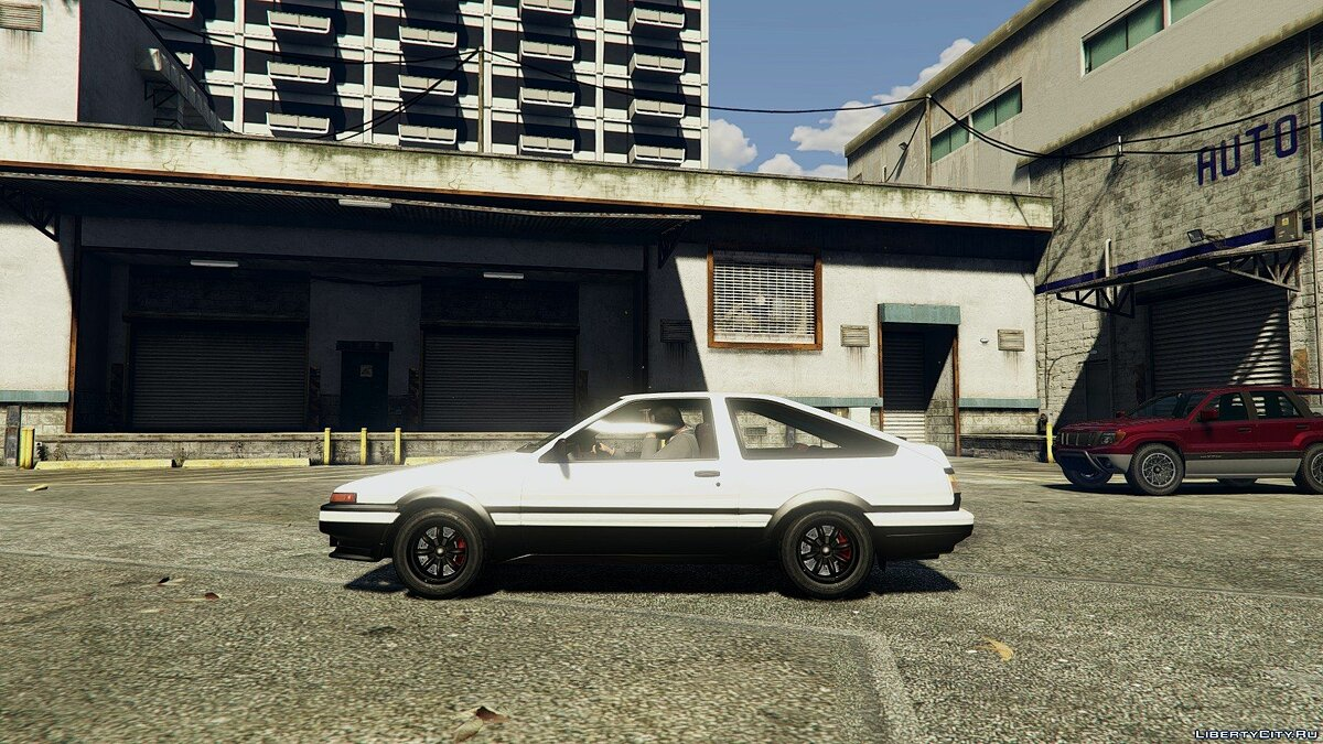 1985 Toyota Sprinter Trueno GT Apex (AE86) [Add-on] 1.6 для GTA 5 - скриншот #3