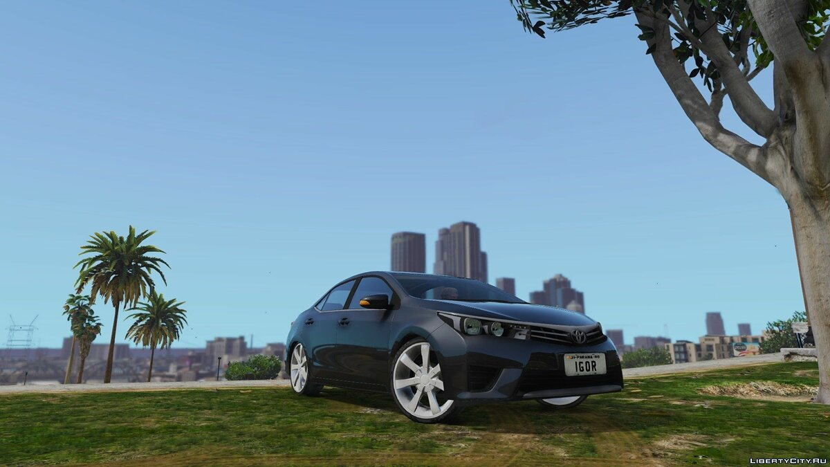 2014 Toyota Corolla Edit для GTA 5