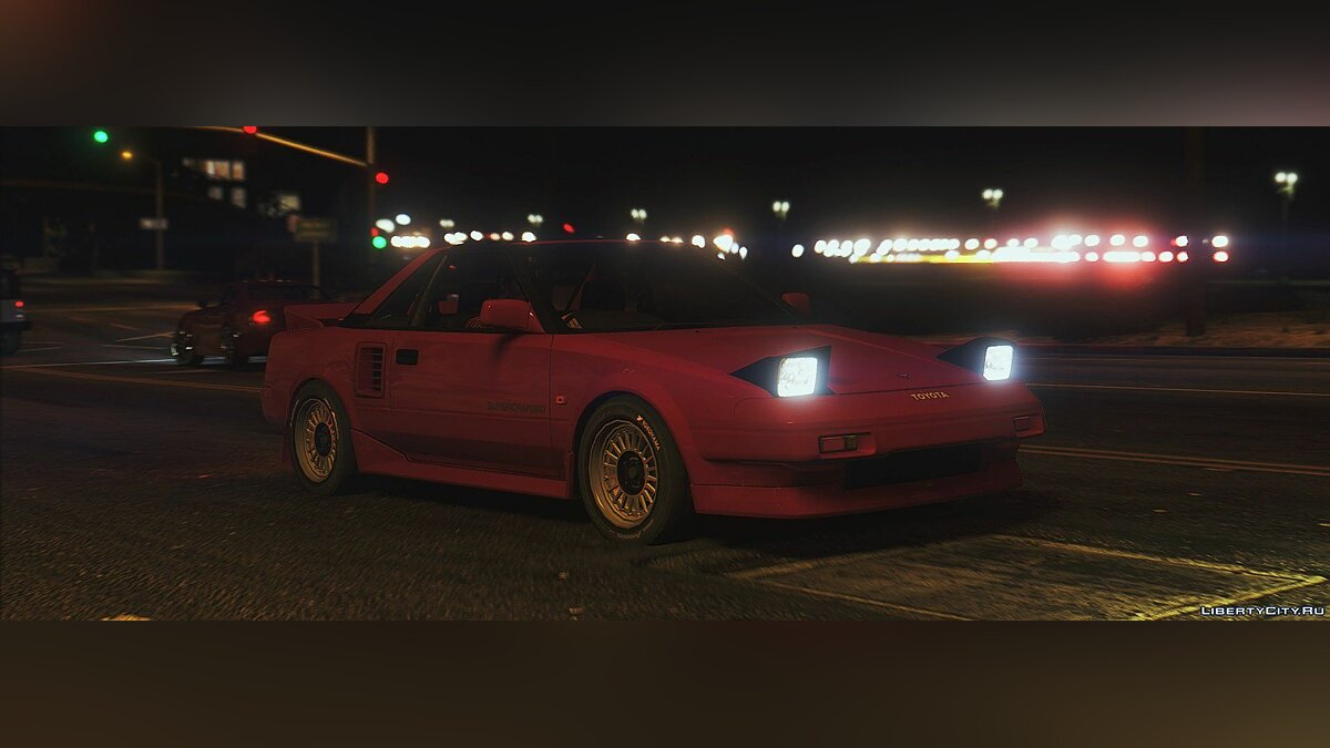 Машина Toyota 1986 Toyota MR2 AW11 [Replace] 1.5 для GTA 5