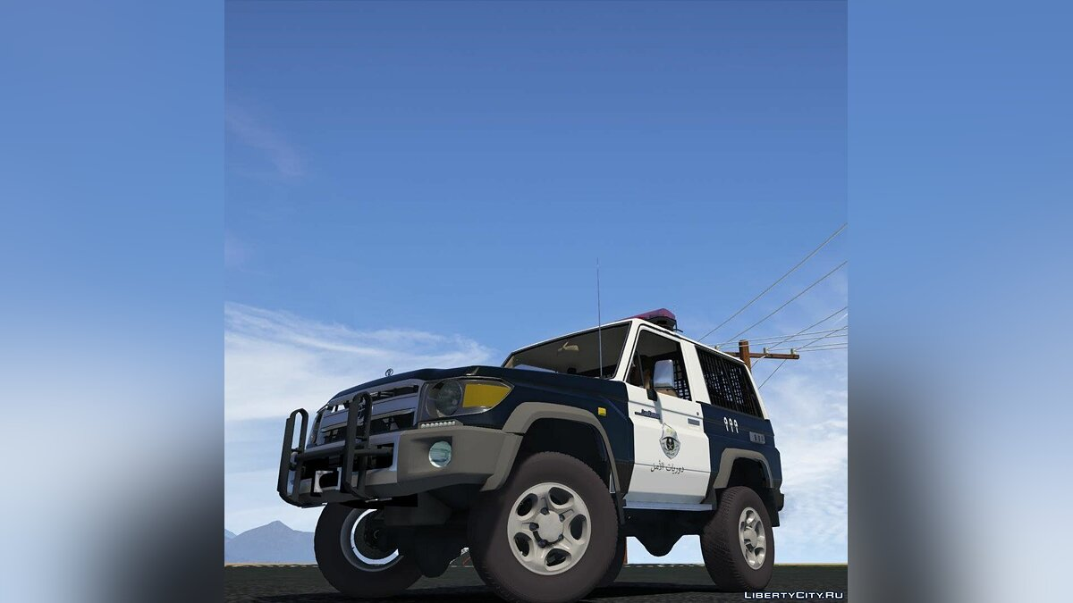 Toyota Land Cruiser Machito full Police 2014 [Add-On | Replace | Livery | Extras | Template] 1.1 для GTA 5 - скриншот #3
