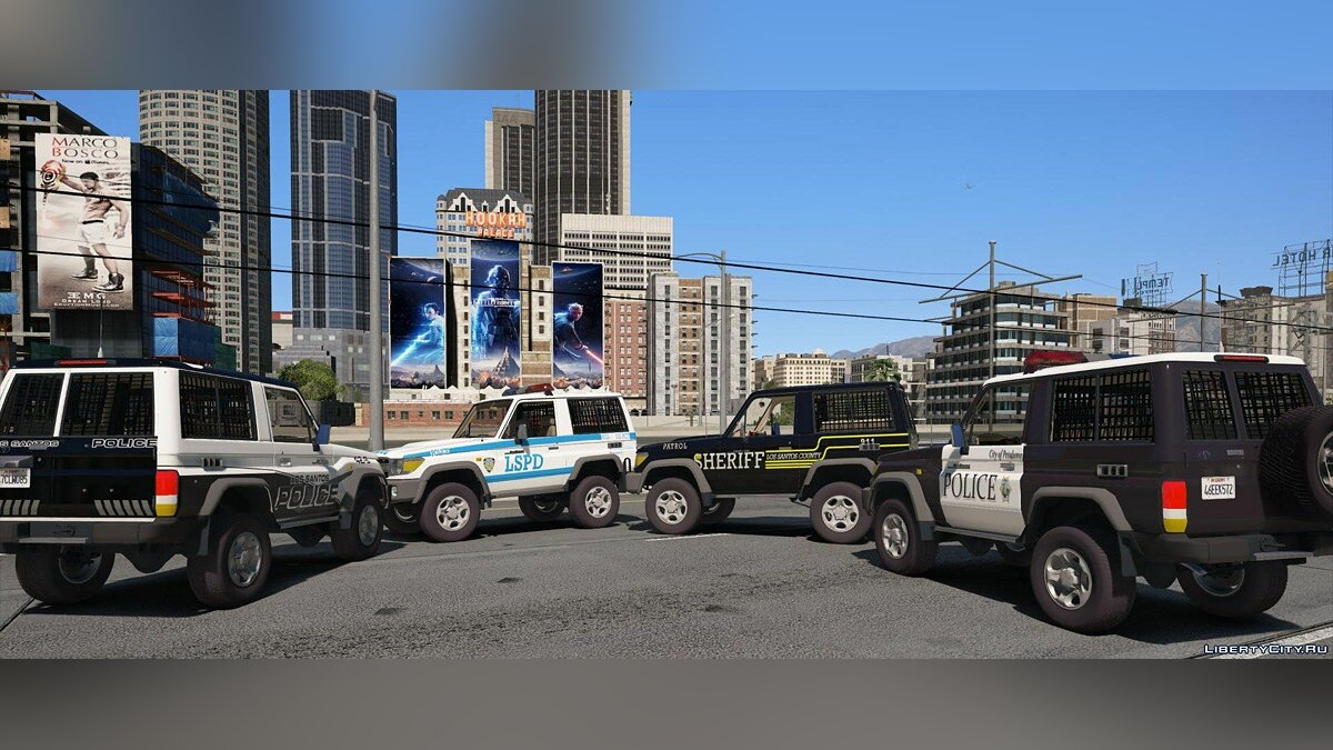 Toyota Land Cruiser Machito full Police 2014 [Add-On | Replace | Livery | Extras | Template] 1.1 для GTA 5 - скриншот #4