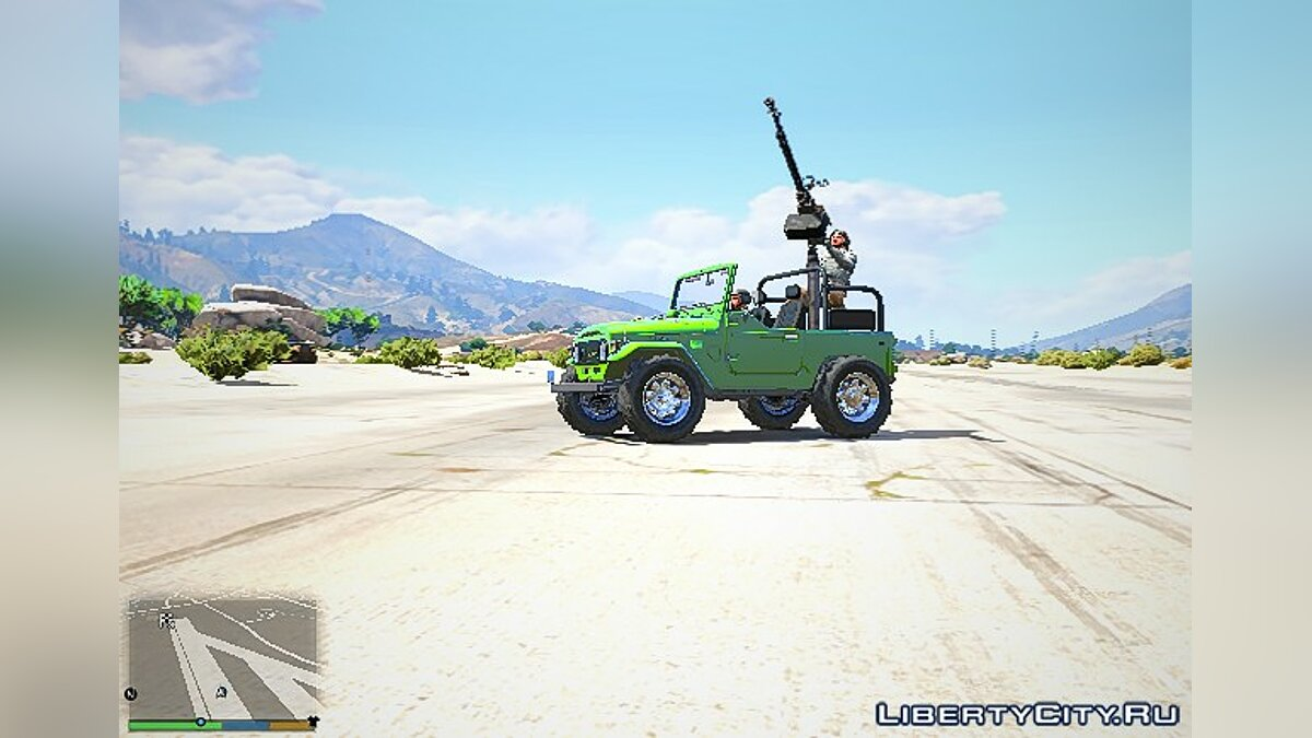 Toyota J40 Land Cruiser для GTA 5 - скриншот #4