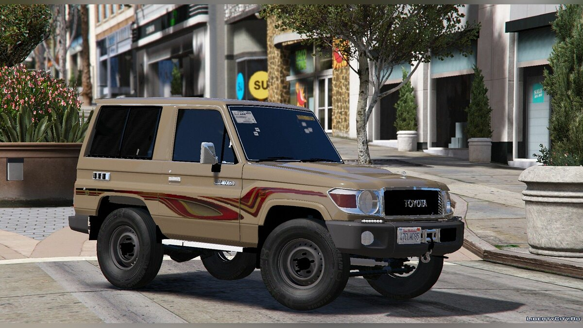 2009/2013 Toyota Land Cruiser V6 Machito 1.1 для GTA 5