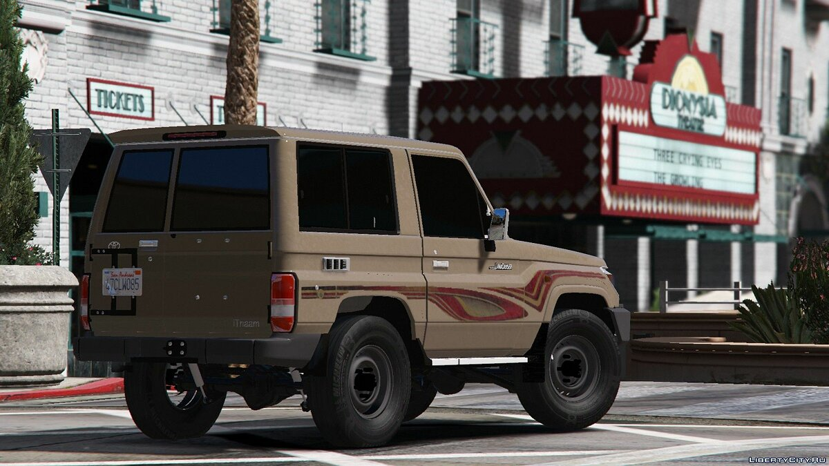 2009/2013 Toyota Land Cruiser V6 Machito 1.1 для GTA 5 - скриншот #4