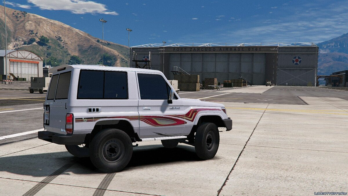 2009/2013 Toyota Land Cruiser V6 Machito 1.1 для GTA 5 - скриншот #5