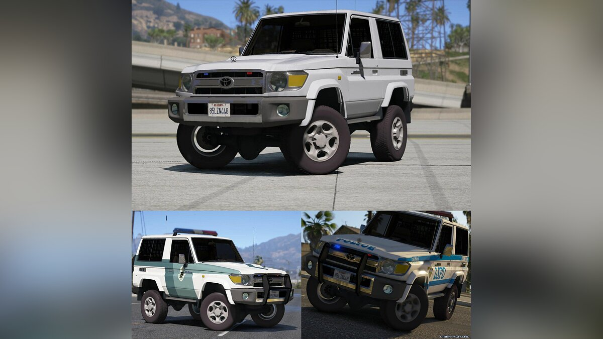 Toyota Land Cruiser Machito Police 2014 [Add-On | Replace | Livery | Extras | Template] 1.0 для GTA 5