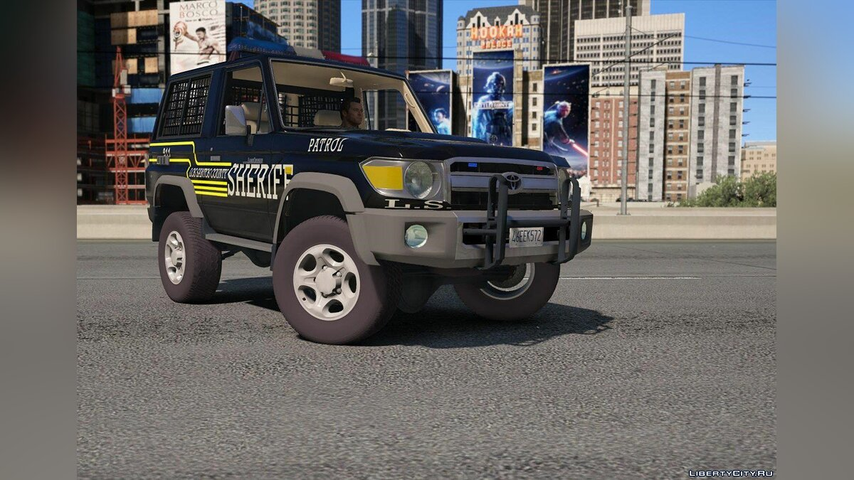 Toyota Land Cruiser Machito Police 2014 [Add-On | Replace | Livery | Extras | Template] 1.0 для GTA 5 - скриншот #4