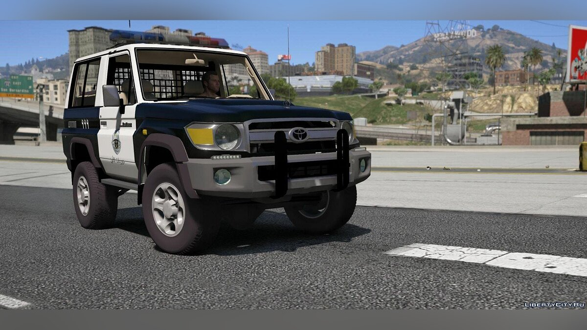 Toyota Land Cruiser Machito Police 2014 [Add-On | Replace | Livery | Extras | Template] 1.0 для GTA 5 - скриншот #6