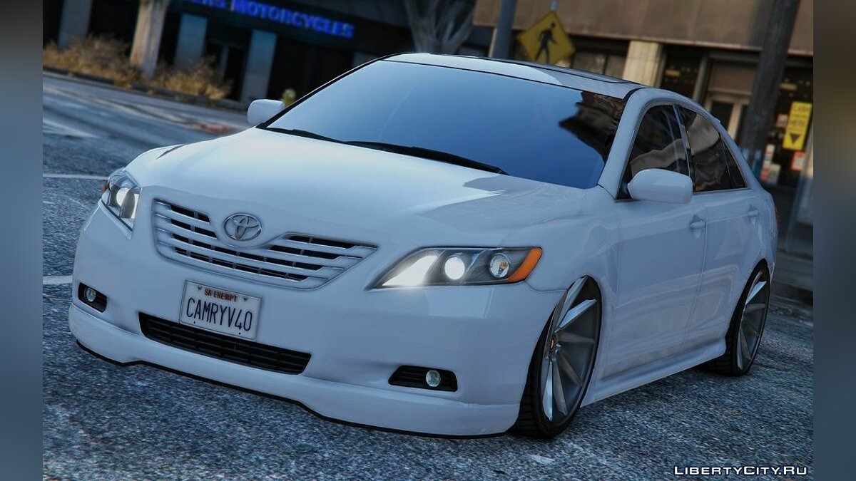 Toyota Camry V40 2008 [Tunable | Add-On / Replace] 1.0 для GTA 5