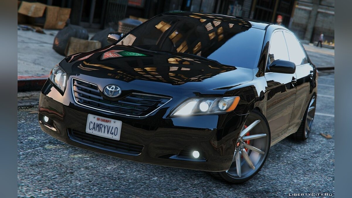 Toyota Camry V40 2008 [Tunable | Add-On / Replace] 1.0 для GTA 5 - скриншот #3