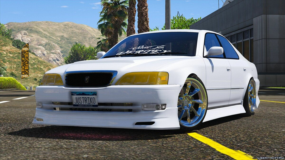 Toyota Cresta JZX100 Vertex [Add-On / Replace] 0.1 для GTA 5 - скриншот #3