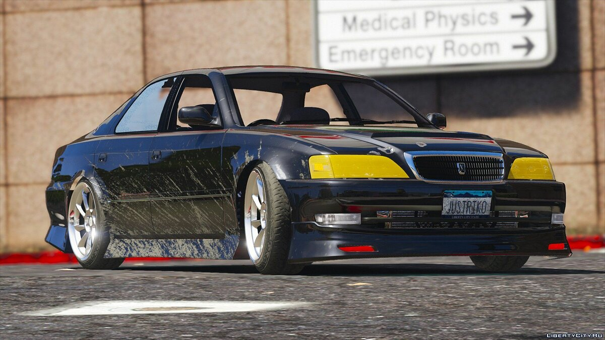 Toyota Cresta JZX100 Vertex [Add-On / Replace] 0.1 для GTA 5 - скриншот #8