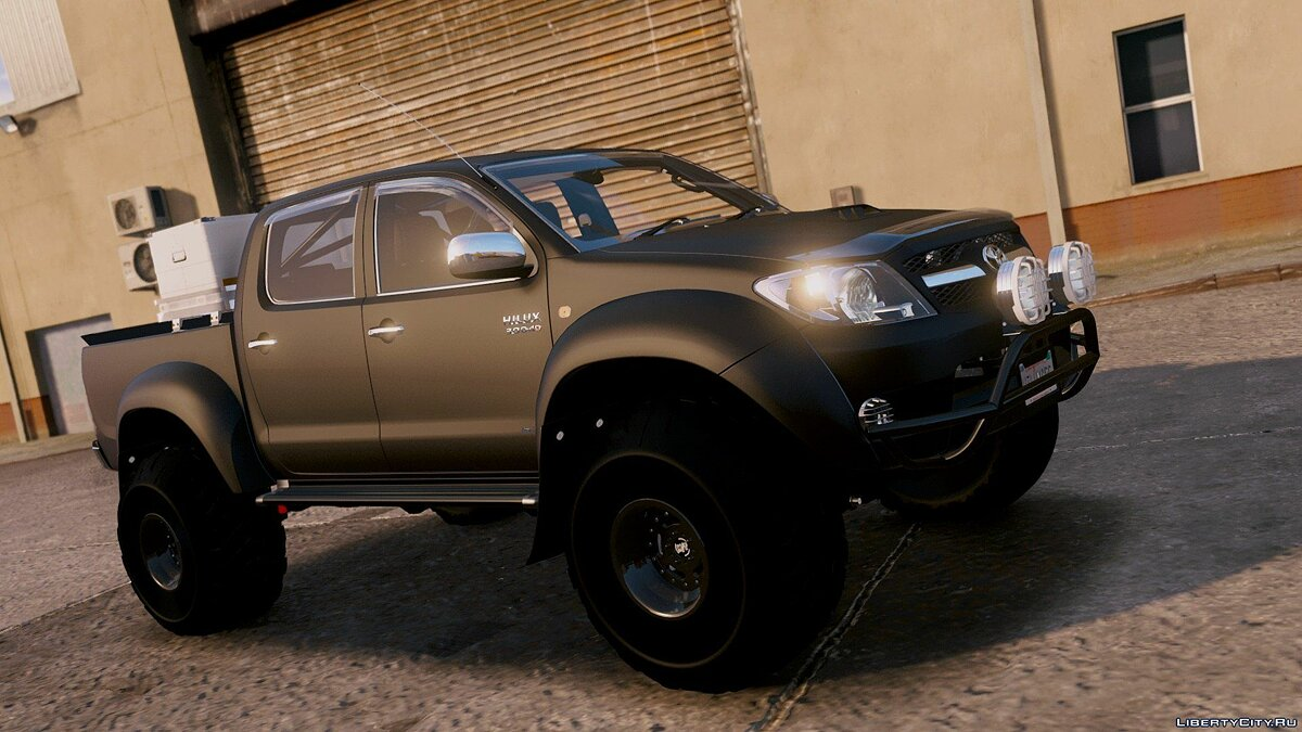 ��ашина Toyota 2007 Top Gear Toyota Hilux AT38 Arctic Trucks [Add-On / Tuning] 1.0 для GTA 5