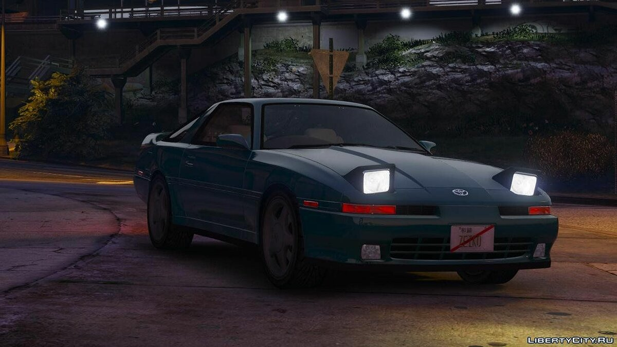 1992 Toyota Supra Turbo Mk3 [Add-On | +Template] 1.2 для GTA 5