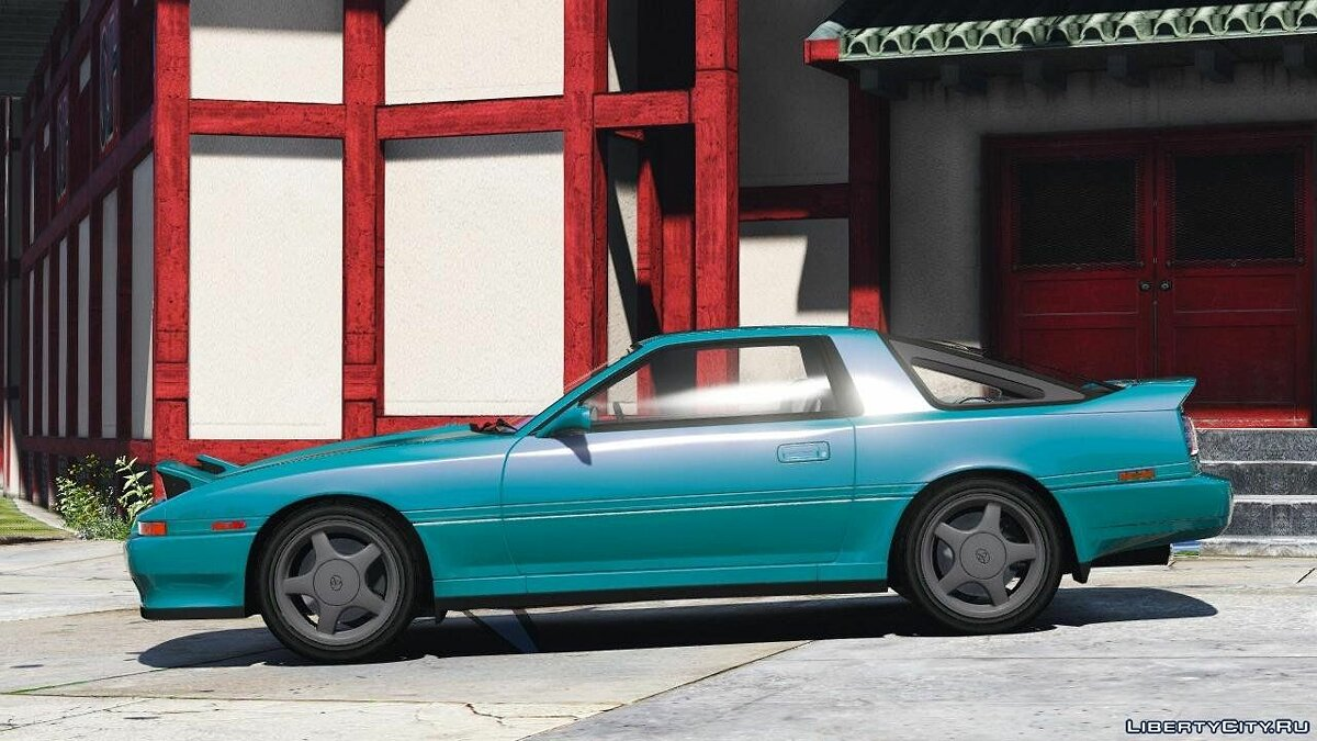 1992 Toyota Supra Turbo Mk3 [Add-On | +Template] 1.2 для GTA 5 - скриншот #3