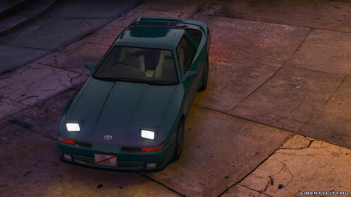 1992 Toyota Supra Turbo Mk3 [Add-On | +Template] 1.2 для GTA 5 - скриншот #8