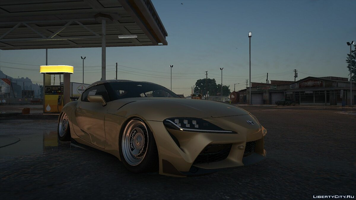 Машина Toyota 2020 Toyota Supra GR A90 [Add-On / Replace | FiveM] 3.0 для GTA 5
