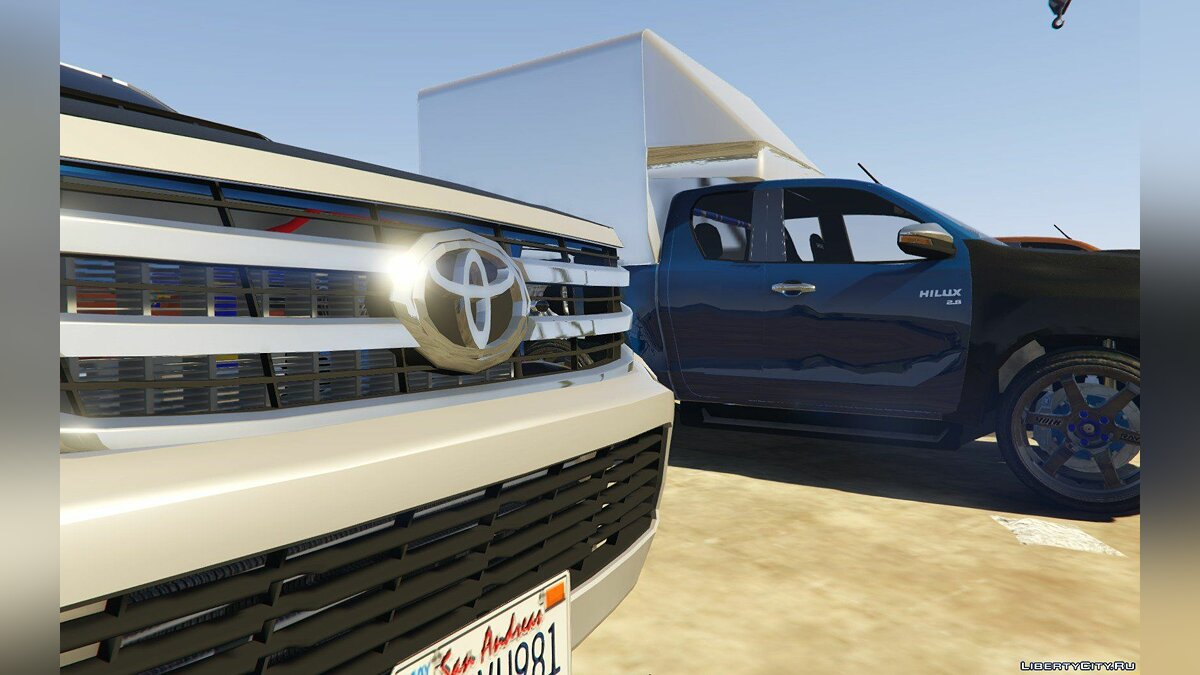 Машина Toyota Toyota Hylux REVO Cap 2014 (add-on) 1.0 для GTA 5