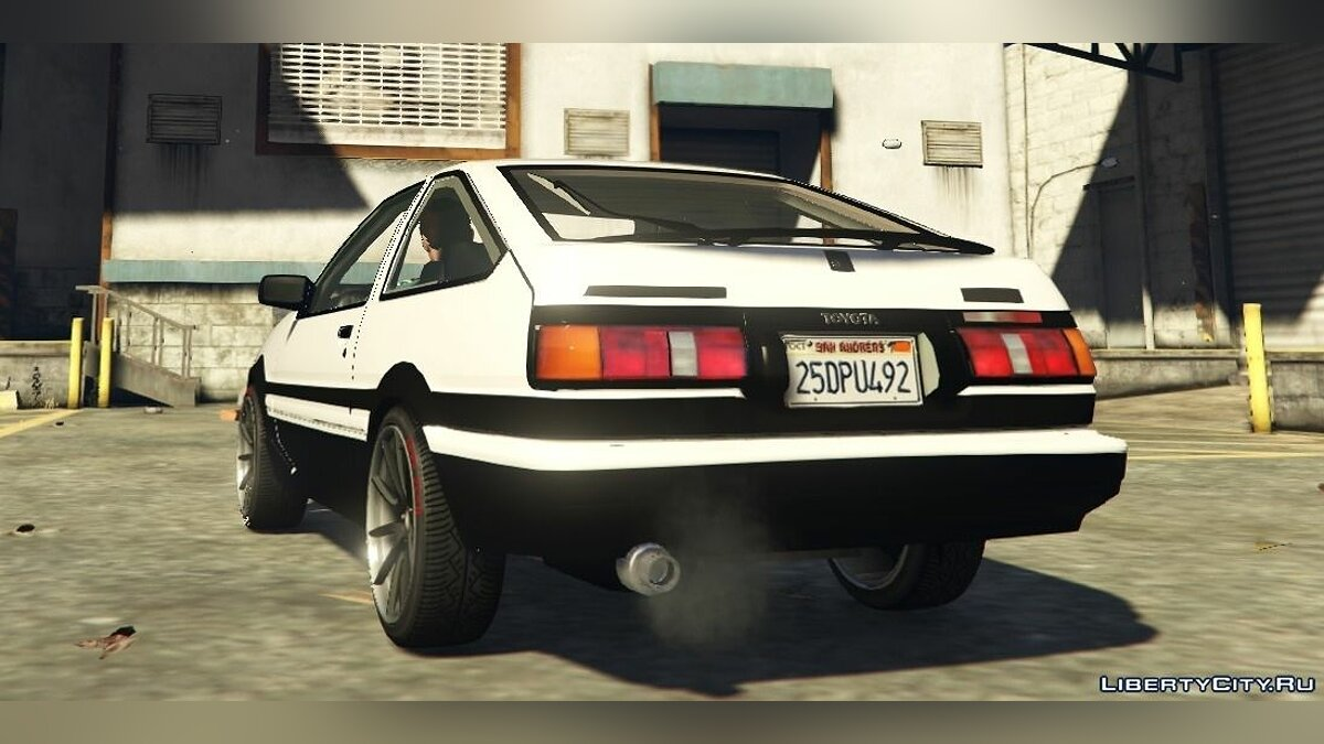 Toyota AE86 Sprinter [BETA] для GTA 5 - скриншот #3