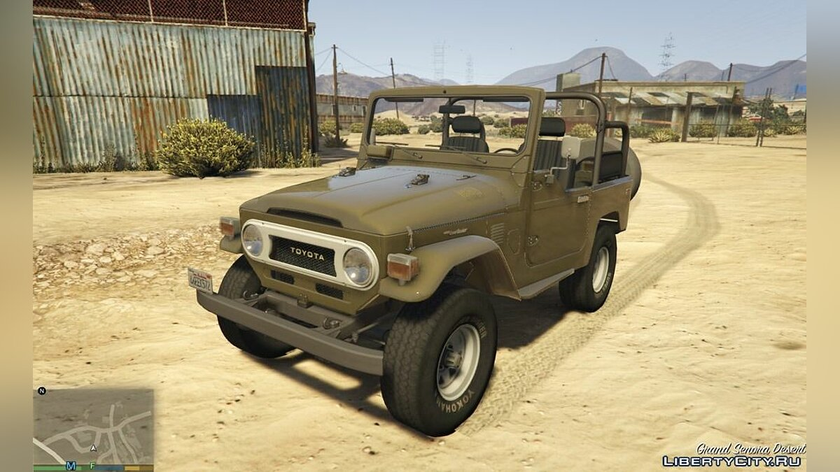 1978 Toyota J40 Land Cruiser 1.0 для GTA 5