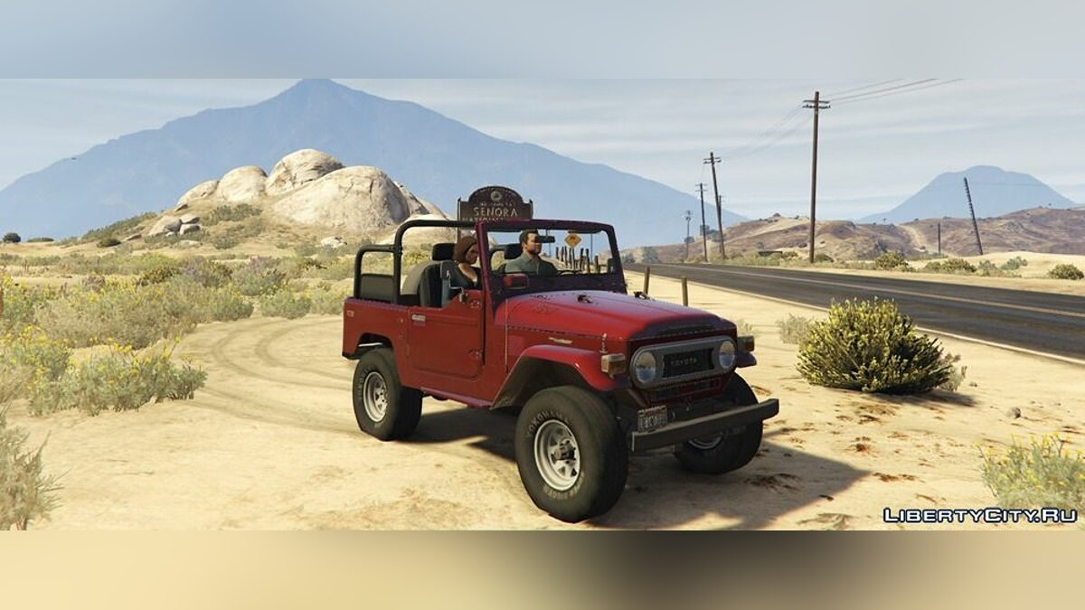1978 Toyota J40 Land Cruiser 1.0 для GTA 5 - скриншот #3
