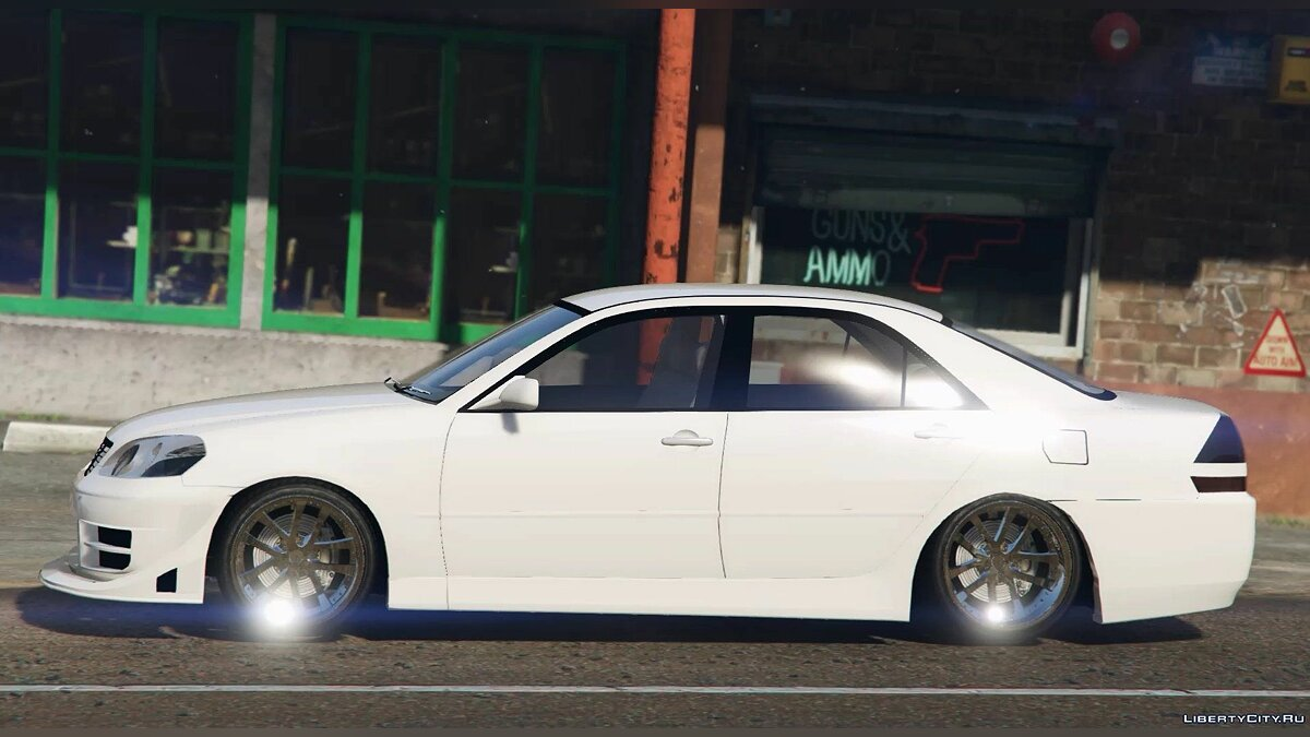 Toyota Mark II (X110) для GTA 5 - скриншот #4