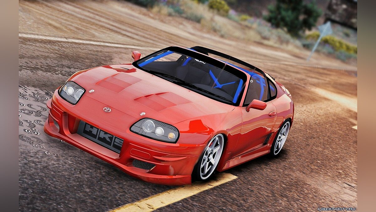 Toyota Supra [Add-on] [Stock + More tuning] для GTA 5 - скриншот #3