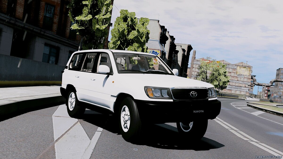 2007 Toyota Land Cruiser [Replace|Extra] 2.0 для GTA 5