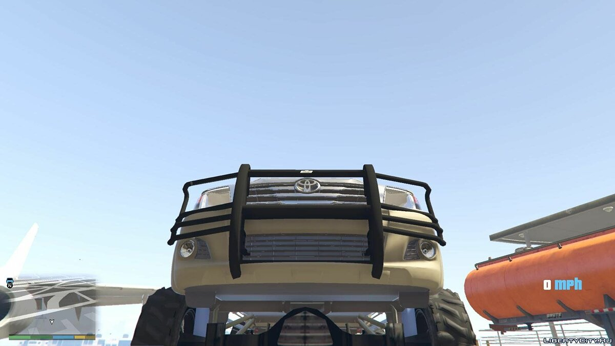 Lifted Toyota Hilux 1.0 для GTA 5 - скриншот #3