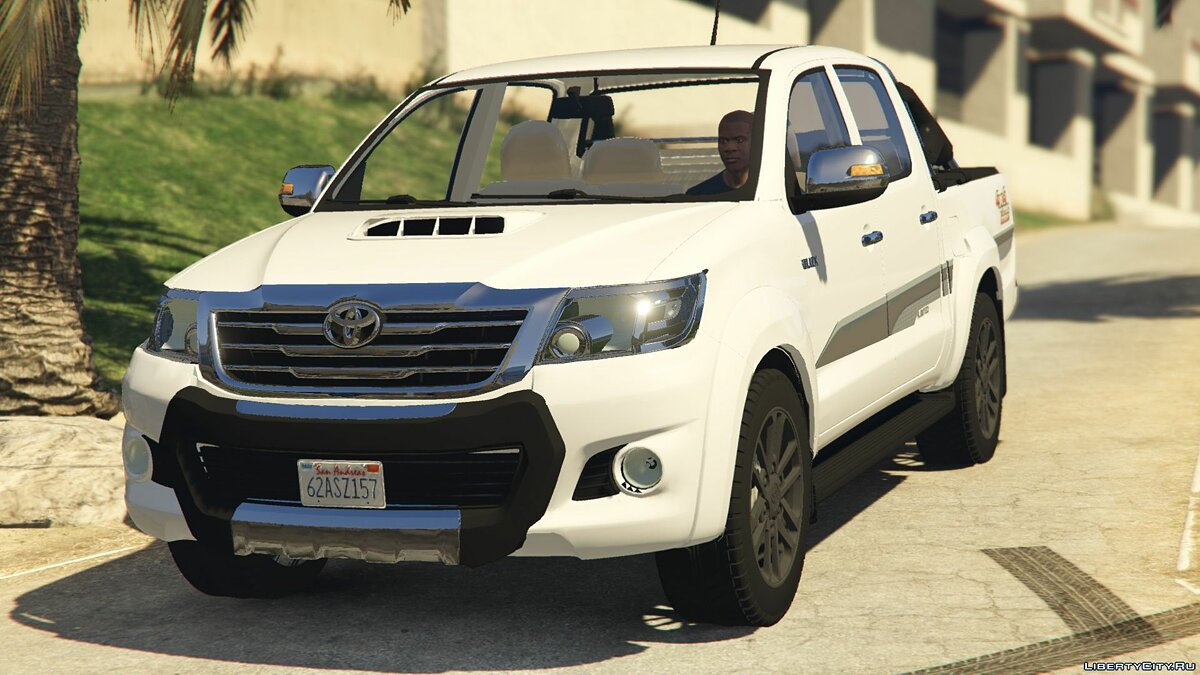 2015 Toyota Hilux Limited Edition 2.0 для GTA 5 - скриншот #5