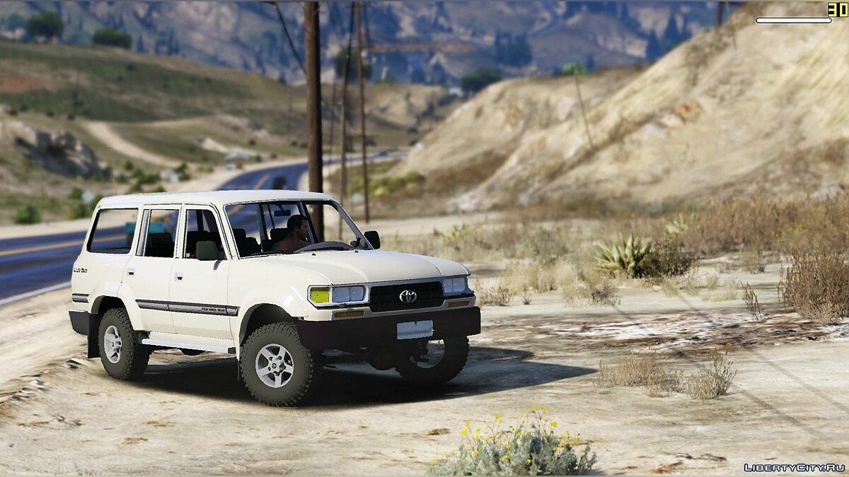 Toyota Land Cruiser Autana 1997 [Replace | Extras] 1.0 для GTA 5