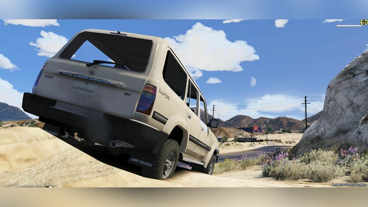 Toyota Land Cruiser Autana 1997 [Replace | Extras] 1.0 для GTA 5 - скриншот #2