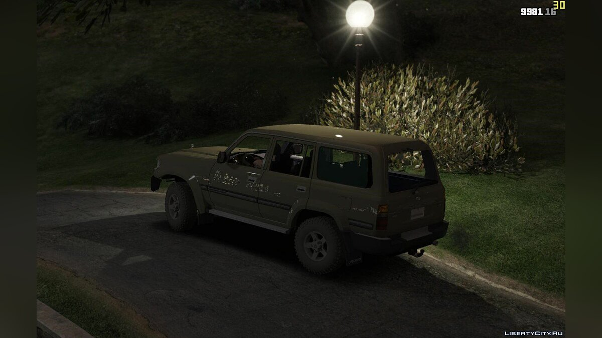 Toyota Land Cruiser Autana 1997 [Replace | Extras] 1.0 для GTA 5 - скриншот #3