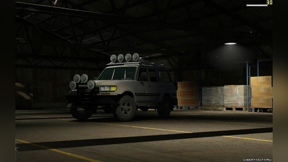 Toyota Land Cruiser Autana 1997 [Replace | Extras] 1.0 для GTA 5 - скриншот #4
