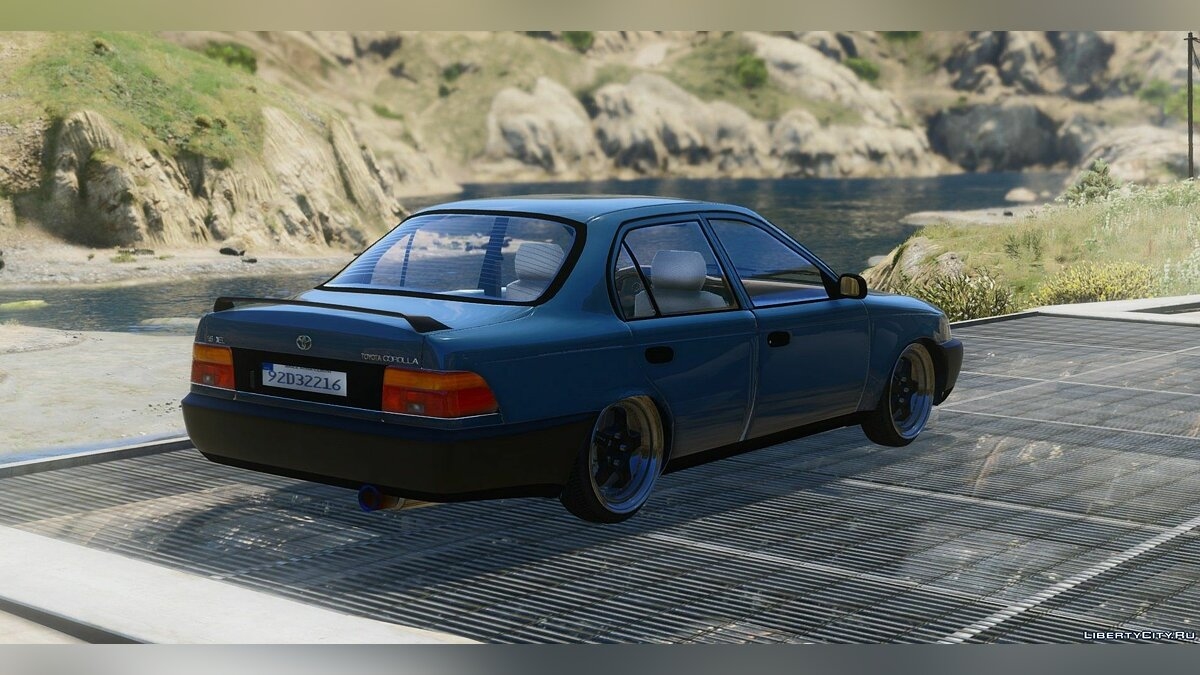 Toyota Corolla 1995 XLI Irish-Based [FINAL] для GTA 5