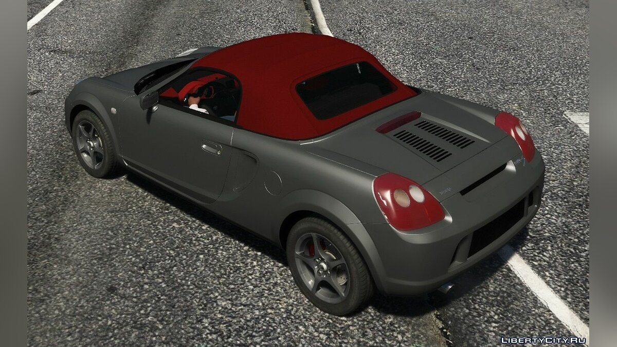 Машина Toyota Toyota MR-S [Add-On | Tuning | Animated roof | LODS | Template ] 1.0 для GTA 5