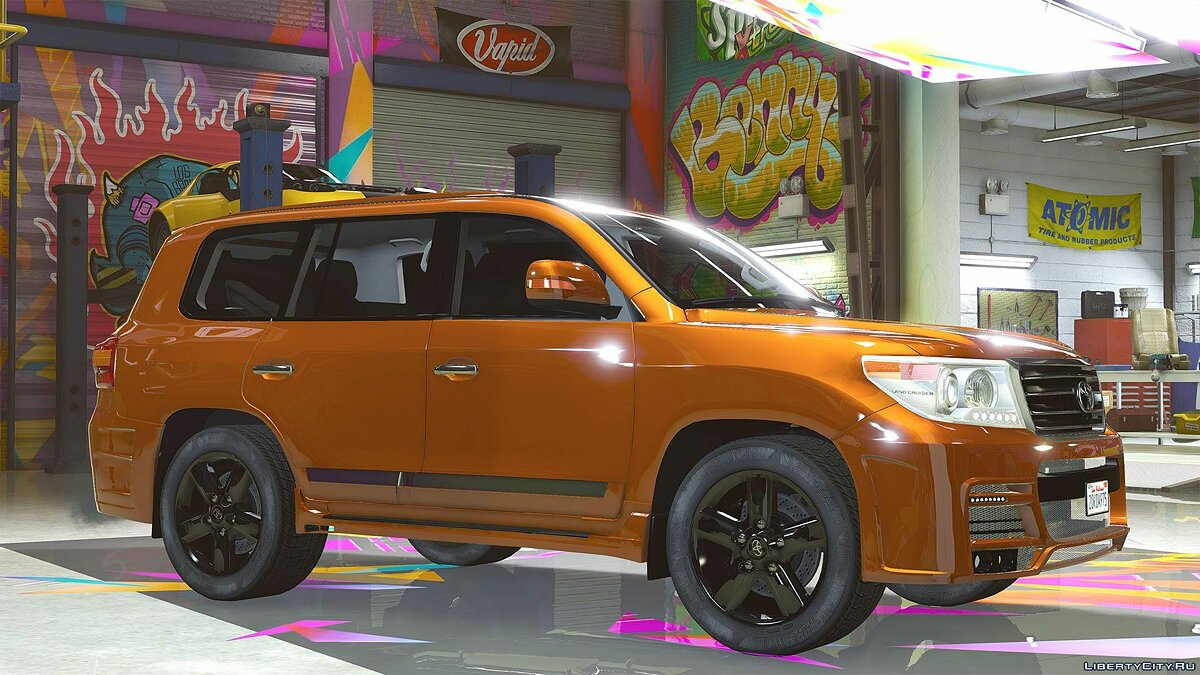 2015 Toyota Land Cruiser 200 Zeus Luv-Line [Add-On / Replace | Animated] 1.1 для GTA 5 - скриншот #3