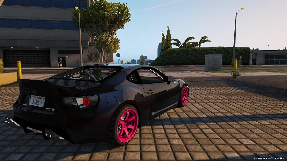 Toyota GT-86 Partly tunable 1.3 для GTA 5 - скриншот #2