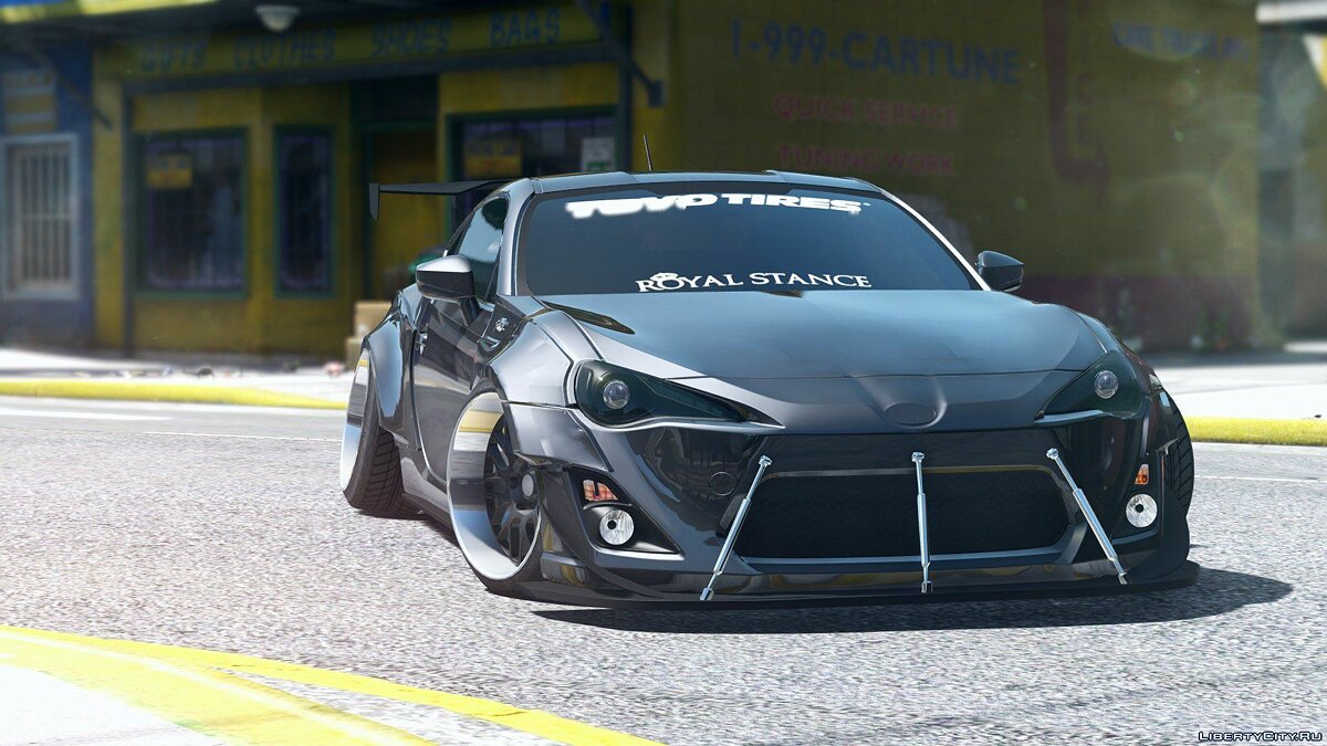 Toyota GT86 RocketBunny [Add-On / Replace] 1.0 для GTA 5