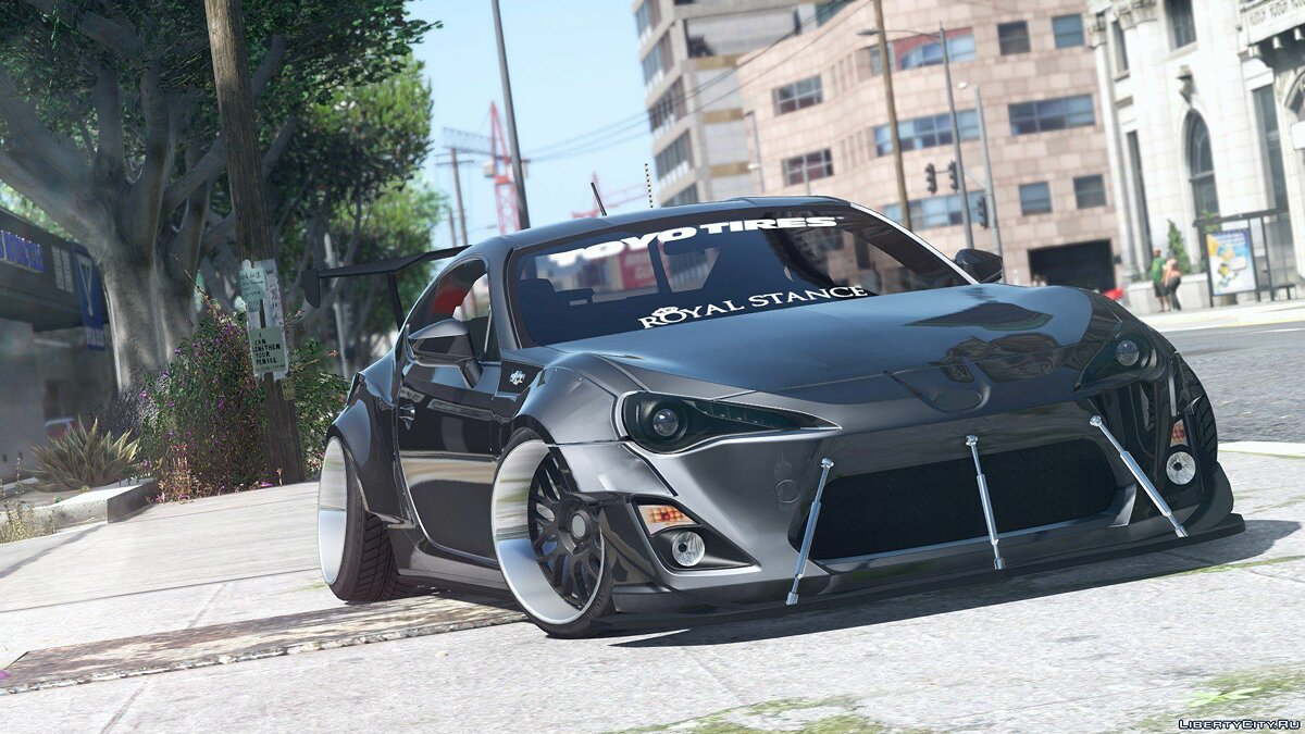 Toyota GT86 RocketBunny [Add-On / Replace] 1.0 для GTA 5 - скриншот #4