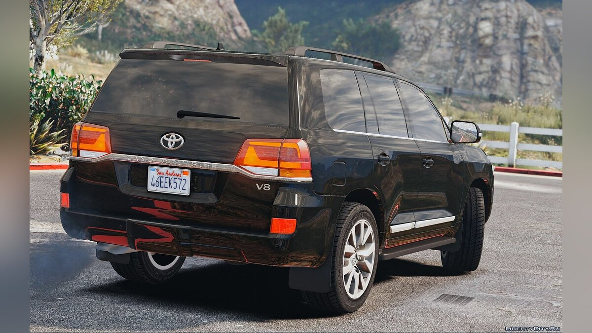 Toyota Land Cruiser 200 2016 [Replace] 1.0 для GTA 5 - скриншот #3