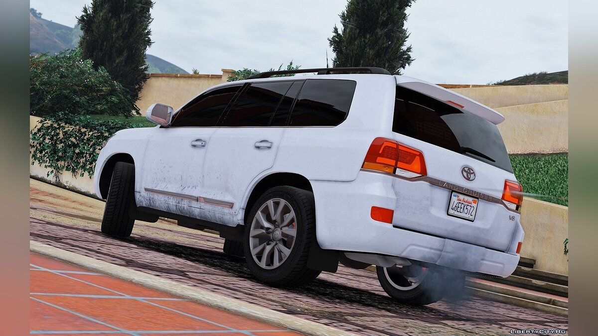 Toyota Land Cruiser 200 2016 [Replace] 1.0 для GTA 5 - скриншот #5