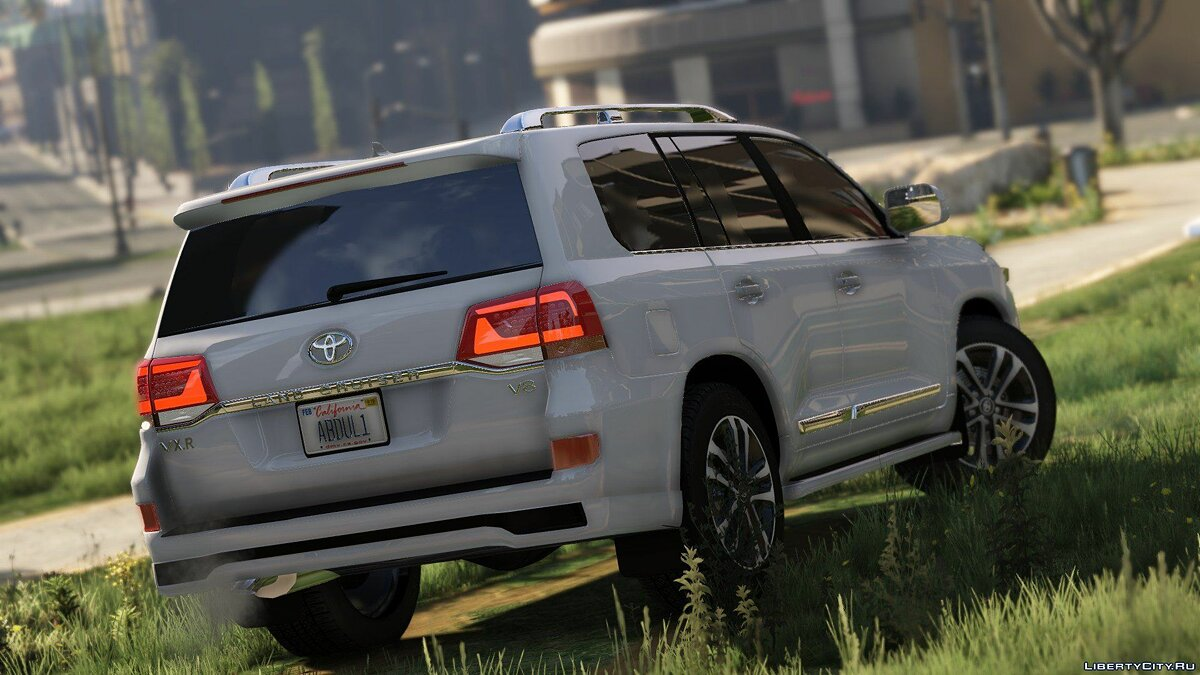 2016 Toyota Land Cruiser VXR 1.0 для GTA 5