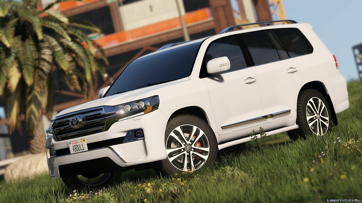2016 Toyota Land Cruiser VXR 1.0 для GTA 5 - скриншот #3
