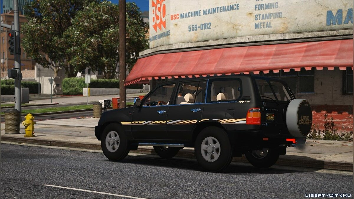 Машина Toyota Toyota Land Cruiser 1999 | Replace] Unlocked 1.0 для GTA 5