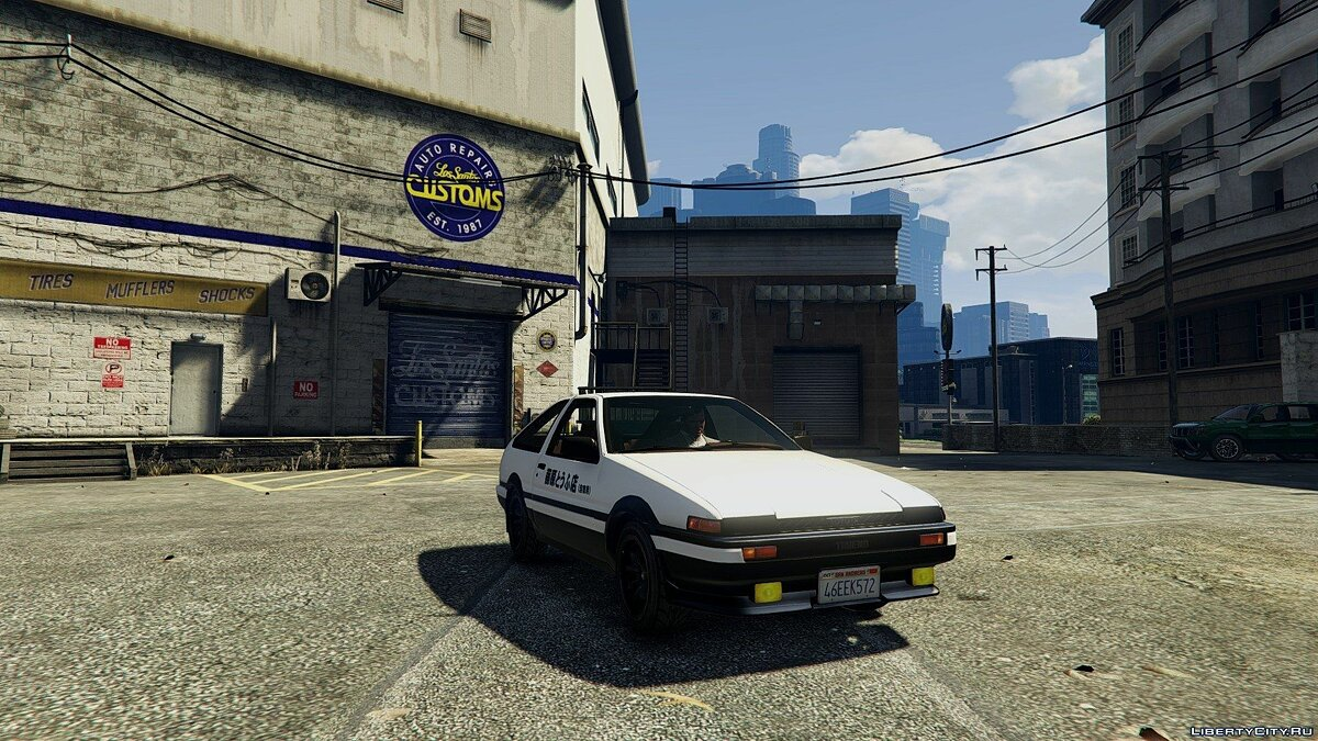 1985 Toyota Sprinter Trueno GT Apex (AE86) [Add-on] для GTA 5