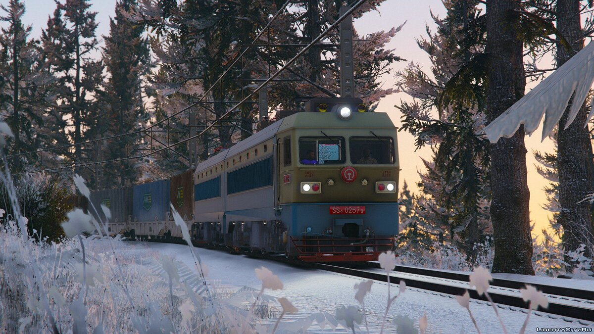 SS4G Electric Locomotive [Add-On] 1.0 для GTA 5